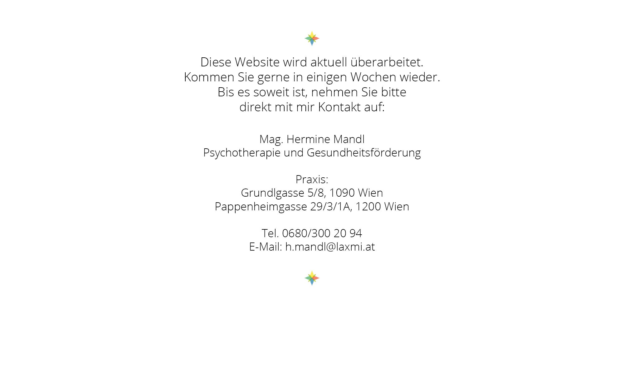 Psychotherapie Hermine Mandl